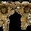 Thumbnail: Cherubines Brackets in Gold - a Pair