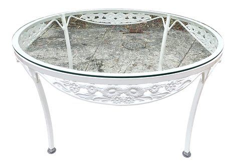 Round Small Patio Coffee Table