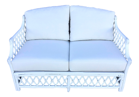 Ficks Reed Loveseat With New Cushions