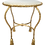 Thumbnail: Oval Bench With Tassel Motif in Gold