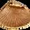 Thumbnail: Faux Gilt Shell Pottery Bowl