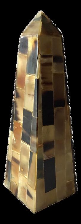 Vintage Tessellated Horn Obelisk