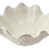 Thumbnail: Clam Shell Centerpiece Bowl in Glazed White Ceramic