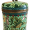 Thumbnail: Mid 19th Century Green Cloisonné Covered Jar