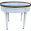 Thumbnail: Classic French Louis XVI Oval Side Table With Drawer