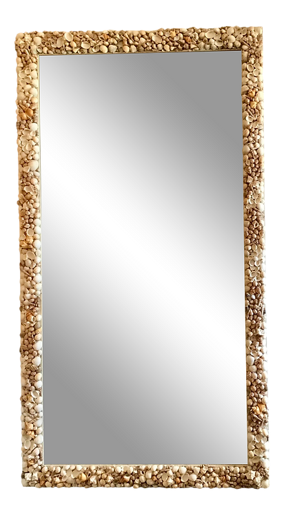 Extremely Large Shell Mirror