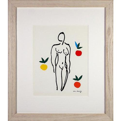 Henri Matisse Nu Aux Oranges Silkscreen