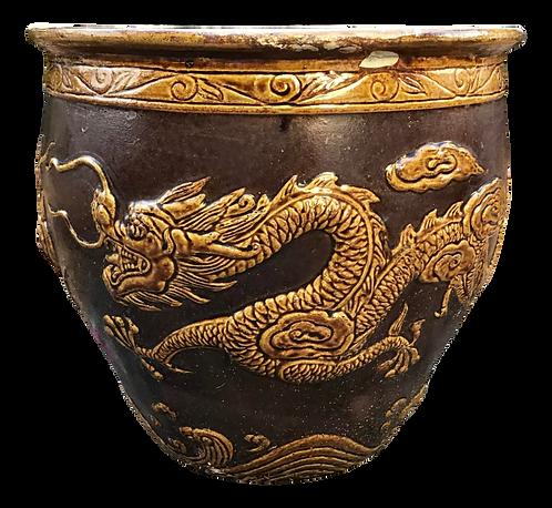 Tony Duquette Style Dragon Pot