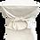 Thumbnail: Dickinson Plaster Drape Cocktail Table Small