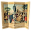 Thumbnail: French Woven Folding Screen With 18th Century Scene