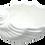 Thumbnail: Faux Seashell White Ceramic Bowl