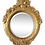 Thumbnail: French Style Craved Gilt Wood Round Mirror