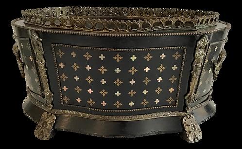 Antique Napoleon III Style Cache Pot