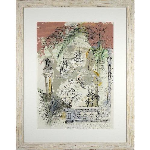 Raoul Dufy Venice Gouache on Paper