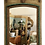 Thumbnail: Small Classic French Boiserie Mirror in Original Painted Finish