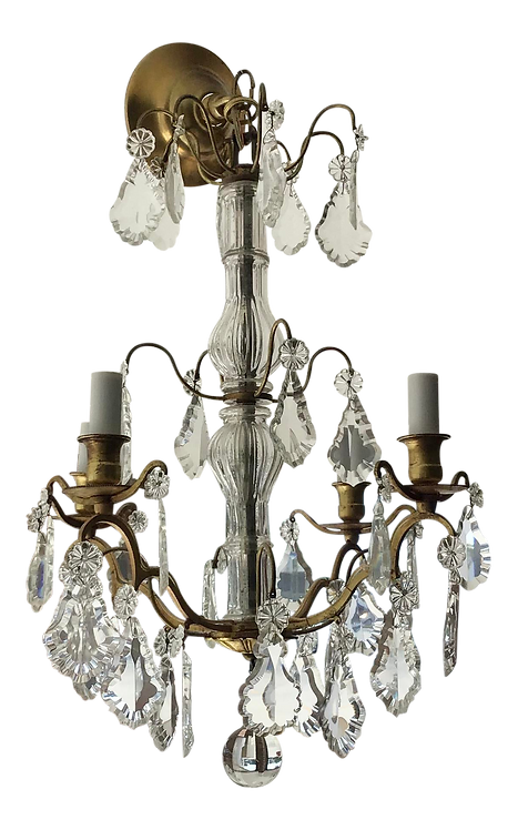19th Century French Versailles Chandelier