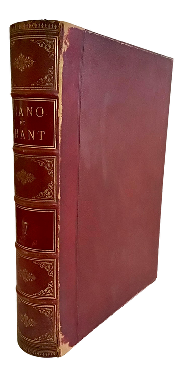 French Box Case in a Book Shape