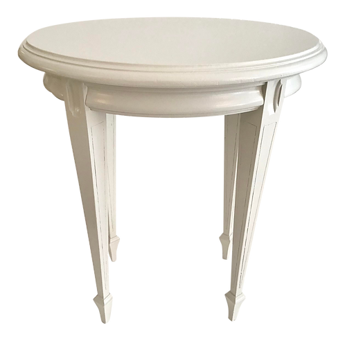 Small French Oval Cocktail Table
