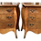 Thumbnail: French Louis XV Small Commode Nightstands - a Pair