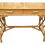 Thumbnail: Rattan Chippendale Writing Desk With Drawers