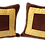 Thumbnail: 1960s Fortuny Square Pillow - a Pair
