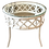 Thumbnail: Ficks Reed Round Rattan Side Table in Fresh White