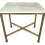 Thumbnail: Modern Todd Hase Christelle Cocktail Table With Onyx Top