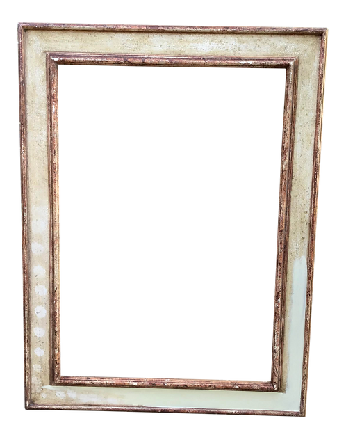 Italian Antique Carved Picture Frame or Mirror Frame