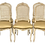 Thumbnail: Set of 6 French Louis XV Cain Back Dining Chairs