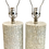 Thumbnail: Mother of Pearl Cylinder Form Table Lamps - a Pair