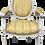 Thumbnail: Classic French Louis XVI Fauteuil Arm Chair