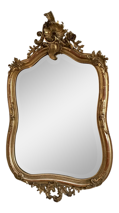French 19th Century Louis XV Style Mirror