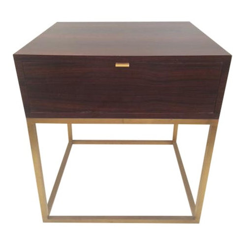 Todd Hase Macassar Ebony Duval Side Table
