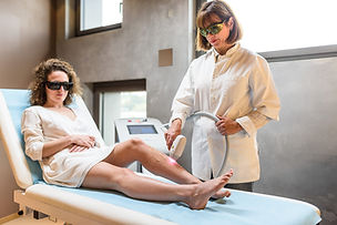 Laser épilation définitive Soin médecine esthétique LED dermatologue Biarritz