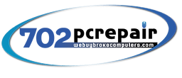 Logo for the company 702pcrepair