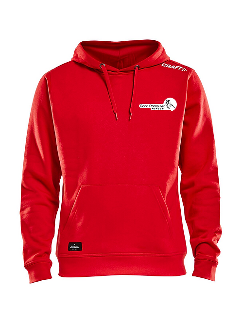 Sweat coton rouge