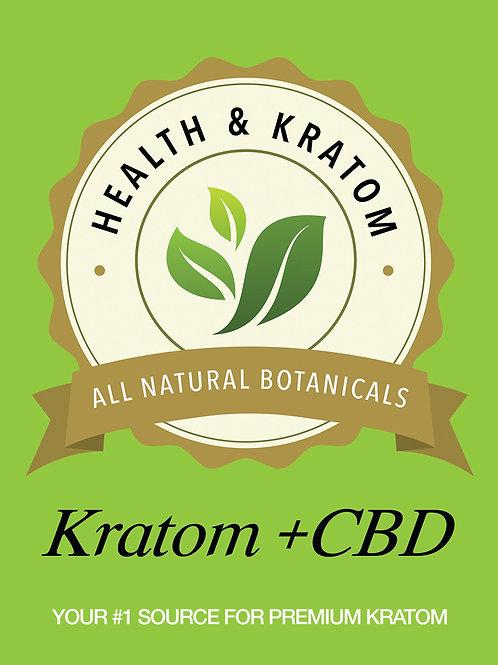 Kratom + CBD