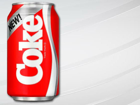 THE PILLARS OF SUCCESSFUL BRANDING: Pillar 8 – Why New Coke Failed:  A Classic Research Mistake