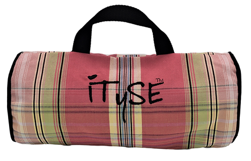 Pink Plaid Carry Case