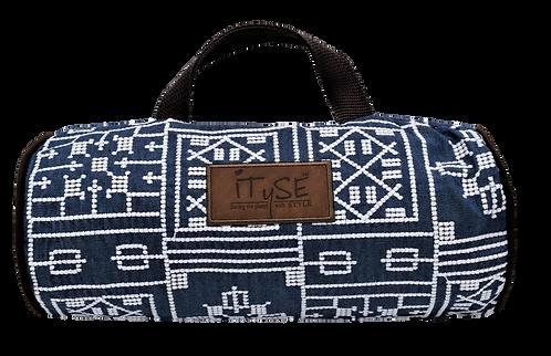 Blue Aztec Carry Case