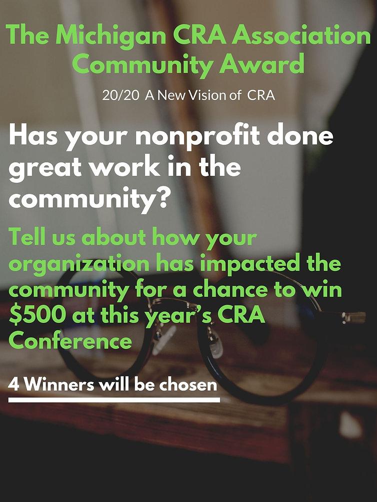 The Michigan CRA Association Community A