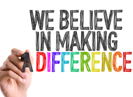 IF YOU WANT TO BE SUCCESSFUL, YOU CAN'T JUST BE DIFFERENT - YOU'VE GOT TO CREATE DIFFERENCE