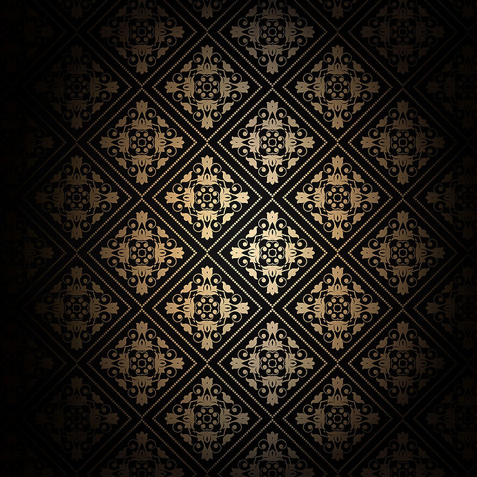 decorative black and gold background 100