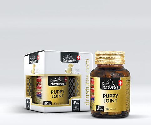 Dr.Nature's Köpek PUPPY JOINT Yavru Köpek Bağışıklık Sistemi & Kemik ve Eklem