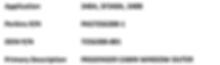 SAAB Aircraft Windows Products List
