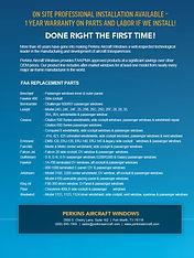 Perkins Aircraft Windows Brochure - page 4
