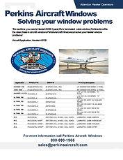 Perkins Windshields Hawker HS125 7-10-19