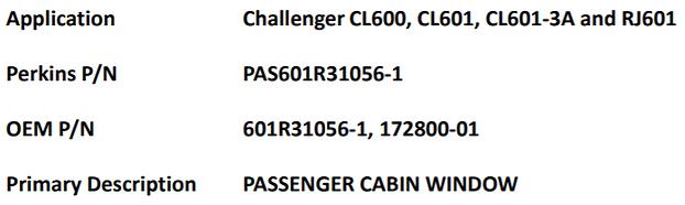 Challenger Aircraft Windows Applications List