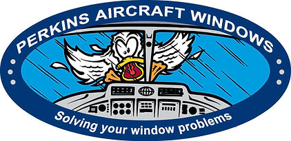 Perkins Aircraft Windows Logo