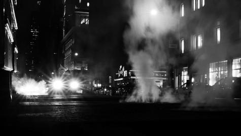 Night picture, New York city, USA, 2019